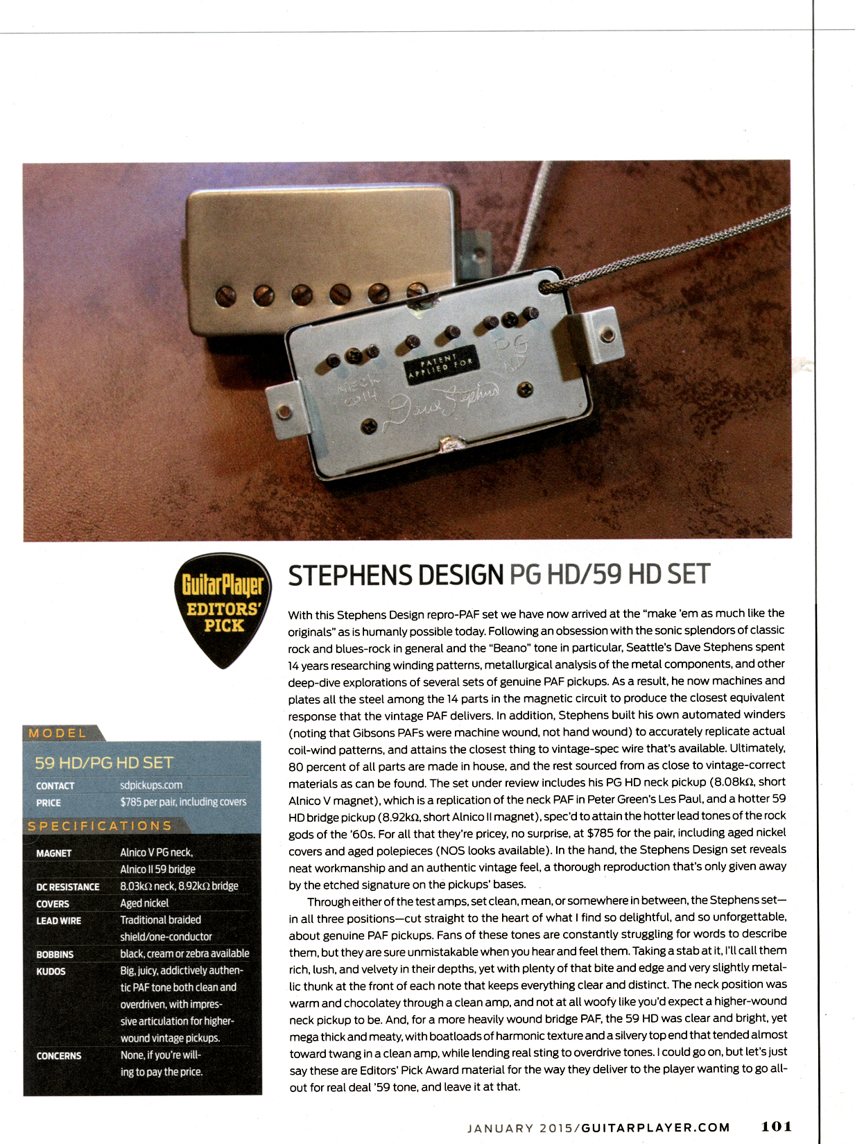 Stephens Design Hd Paf Replicas The One And Only Long Term Humbucker Wiring Here Is A Quick Look At How Humbuckers Work Read Review Click