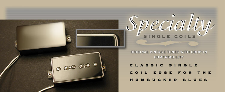 Kay-Bar P90 Style Humbucker Replacement Hand Wound Guitar Pickups by Dave Stephens, SD Pickups, Stephens Design